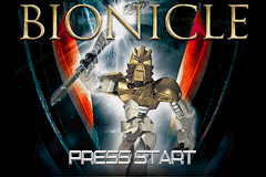 Bionicle - Introduction  - Title Screen - User Screenshot